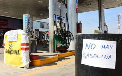 Consecuencias a largo plazo del desabasto de combustibles