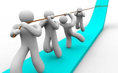 Consigue un equipo efectivo que llegue a sus metas